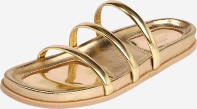 POLO RALPH LAUREN Pantolette in gold, Produktansicht