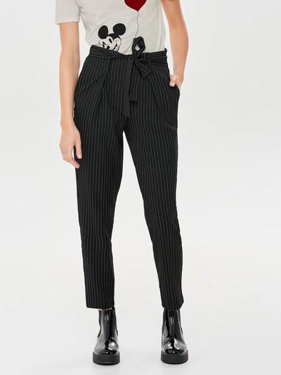 ONLY Hose 'Nicole' in schwarz / weiß, Modelansicht