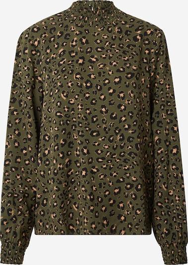 VILA Shirt 'Dania' in de kleur Donkergroen, Productweergave