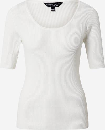 Dorothy Perkins Koszulka 'Dobby' w kolorze białym: Widok z przodu