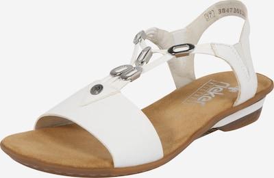 RIEKER Sandale in weiß, Produktansicht