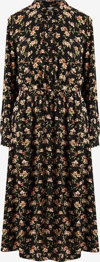 Finn Flare Kleid mit femininem Blumendruck in schwarz, Produktansicht