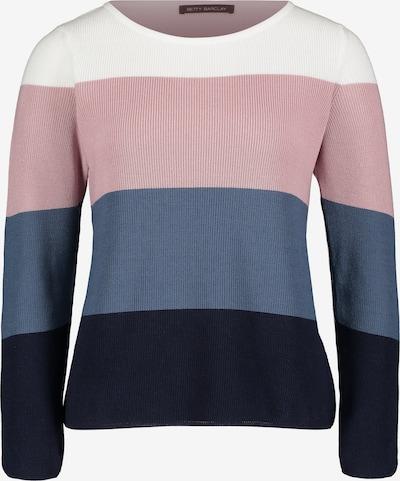 Betty Barclay Grobstrick-Pullover mit Streifen in mischfarben, Produktansicht