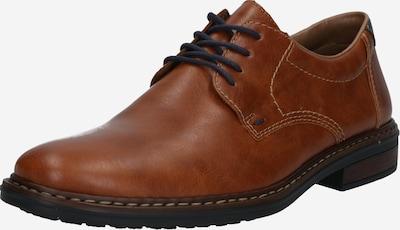 RIEKER Cipele na vezanje u plava / smeđa, Pregled proizvoda