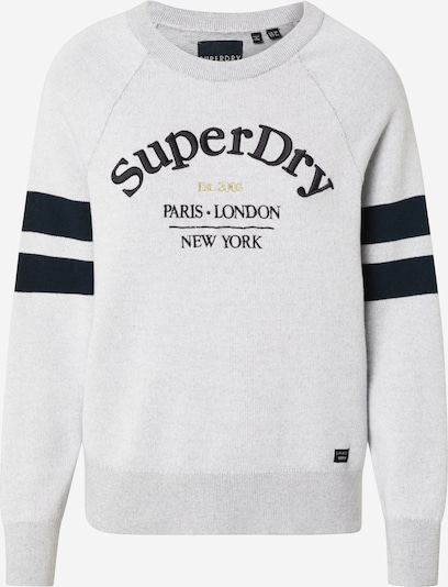 Superdry Kampsun 'AMY LOGO KNIT' hall, Tootevaade