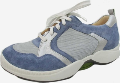 Ganter Schnürschuh in royalblau / hellgrau / weiß, Produktansicht