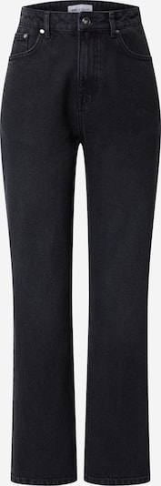 NU-IN Jeans 'High Rise Straight' in schwarz / black denim, Produktansicht