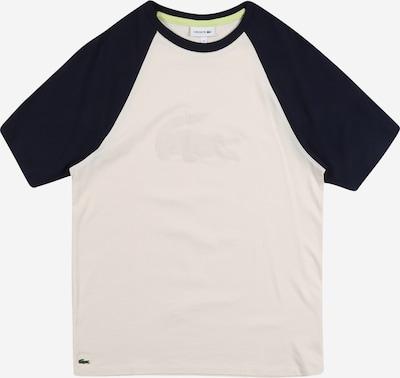 LACOSTE Shirt in beige / blau, Produktansicht