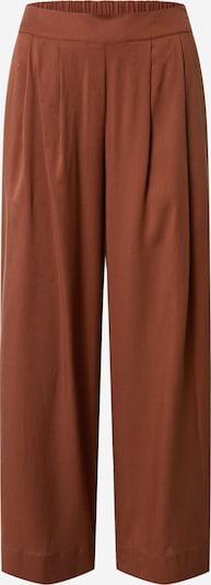 VILA Pantalon à pince en marron / rouille, Vue avec produit