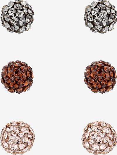ELLI Ohrringe 'Kugel' in mischfarben, Produktansicht
