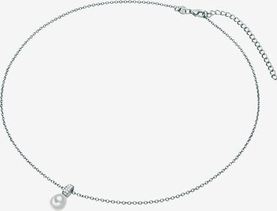 Valero Pearls Kette in silber / transparent / perlweiß, Produktansicht