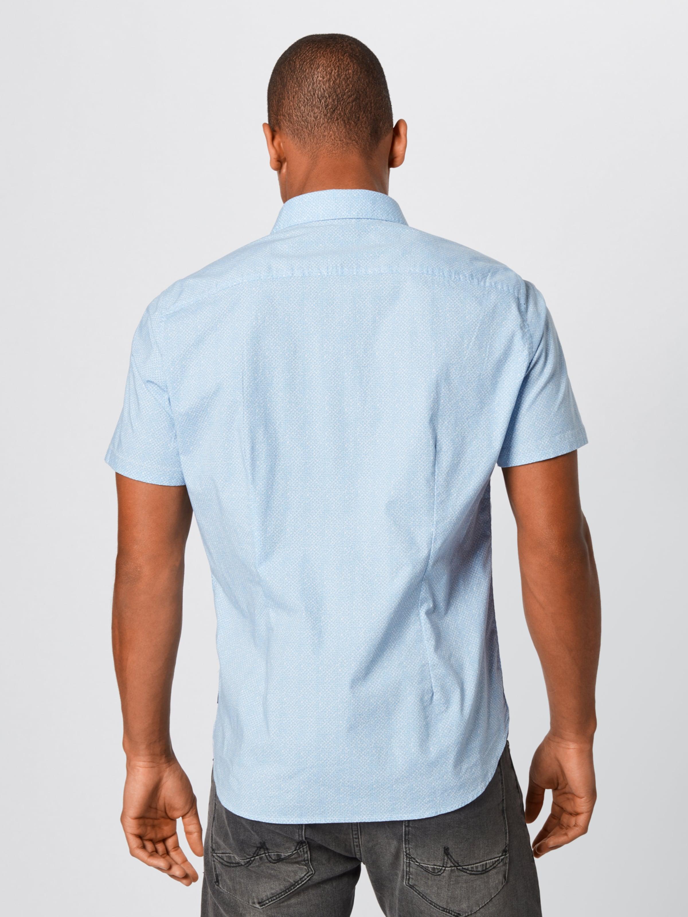In Hemd S oliver Red Blau Label I9EDH2