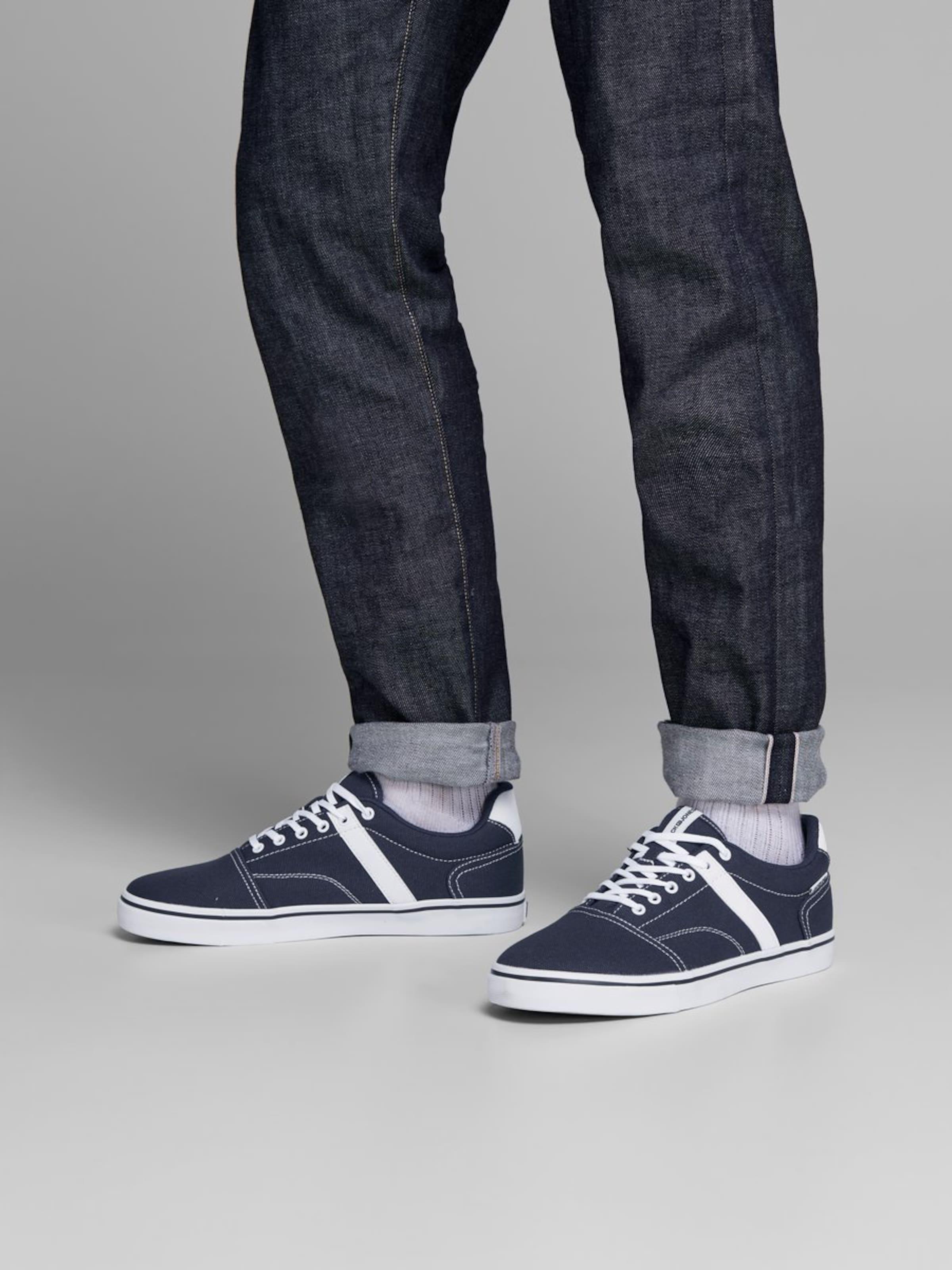 NavyWit Jones Jackamp; Sneakers In Laag rdxhsCtQ