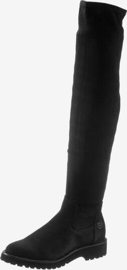 bugatti Overkneestiefel  'Finja' in schwarz, Produktansicht