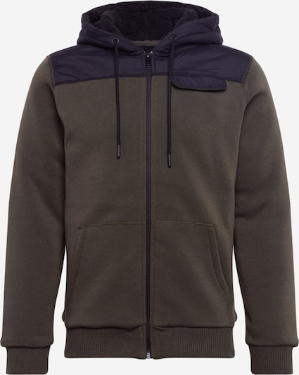 BURTON MENSWEAR LONDON Sweatjacke in khaki, Produktansicht