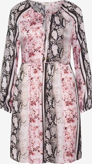 Frogbox Robe en mélange de couleurs / rose, Vue avec produit