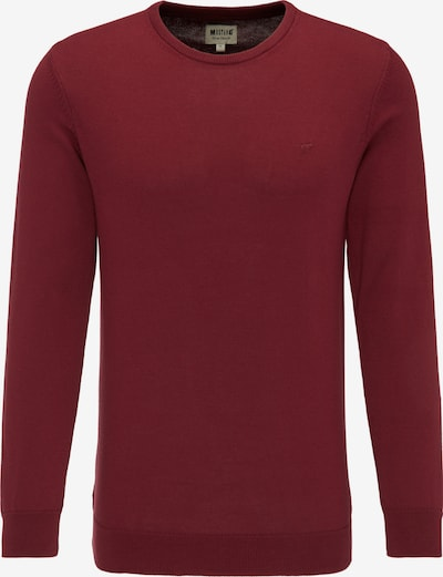 MUSTANG Sweater in weinrot: Frontalansicht