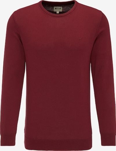 MUSTANG Sweater in weinrot, Produktansicht