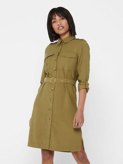 ONLY Blusenkleid 'ONLACACIA-ARIS SHIRT DRESS PNT' in khaki, Modelansicht