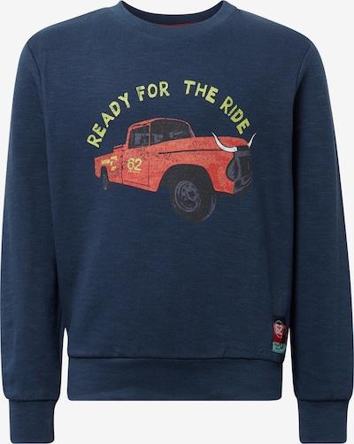TOM TAILOR Sweatshirt in dunkelblau / mischfarben, Produktansicht