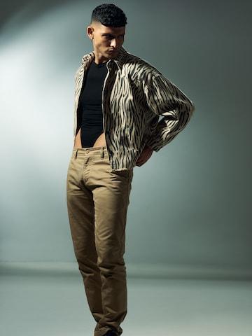 Zebra Jacket Look