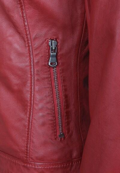 7ELEVEN Lederjacke 'TALLY' in rot, Produktansicht