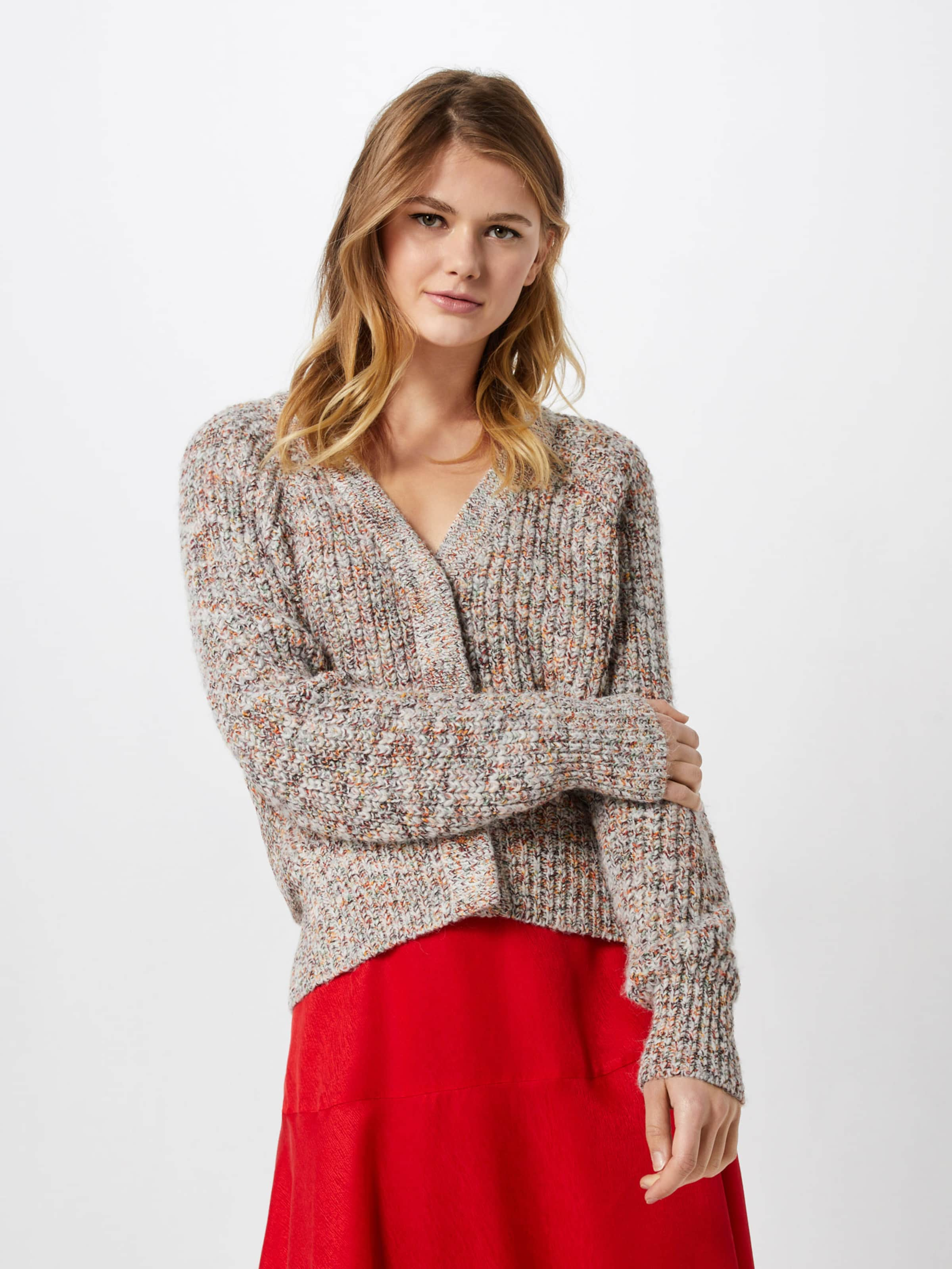 Female Strickjacke Cardigan' Knit 'agnete Beige Second In USzMVp