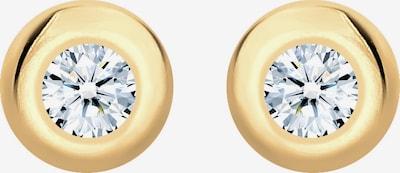 Diamore Oorbellen in de kleur Goud / Transparant, Productweergave