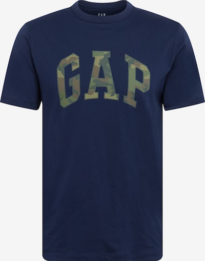 GAP Tričko 'V-SS CAMO ARCH LOGO TEE' - námořnická modř, Produkt