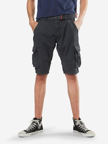 INDICODE JEANS Cargo Pants 'Monroe' in Blue