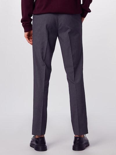 BURTON MENSWEAR LONDON Spodnie w kant w kolorze szarym: Widok od tyłu