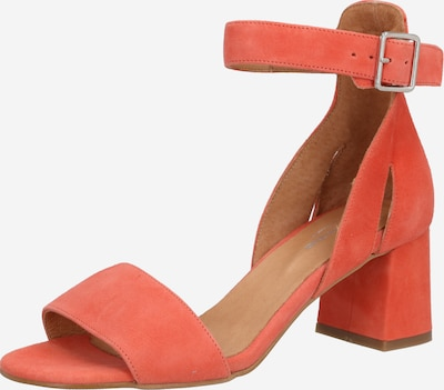Shoe The Bear Sandalen mit Blockabsatz 'May S' in orange / koralle, Produktansicht