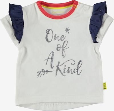 BESS T-Shirt in dunkelblau / rot / silber / weiß, Produktansicht