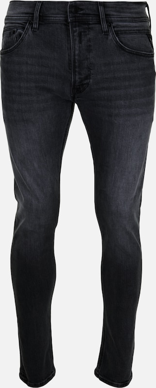 REPLAY Jeans 'JONDRILL' in grey denim: Frontalansicht