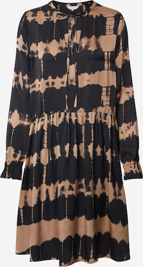 Frogbox Robe-chemise en marron / noir, Vue avec produit