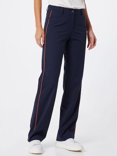 BRAX Pantalon chino 'MILANO' en bleu marine / bleu foncé, Vue avec modèle