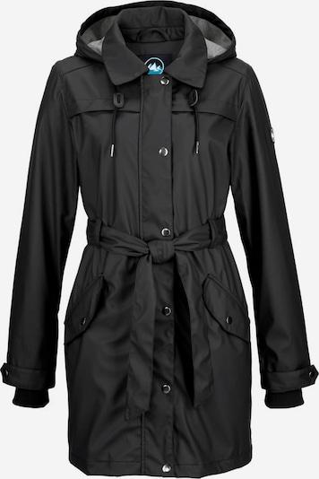 POLARINO Regenjacke in schwarz, Produktansicht