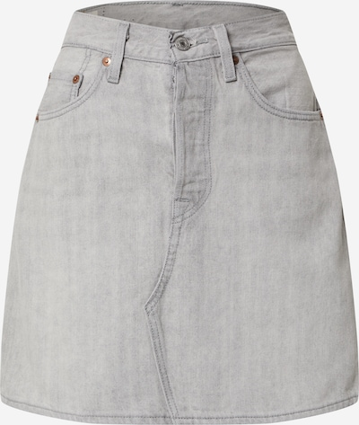 LEVI'S Rock 'HR DECON ICONIC BF SKIRT' in grey denim, Produktansicht
