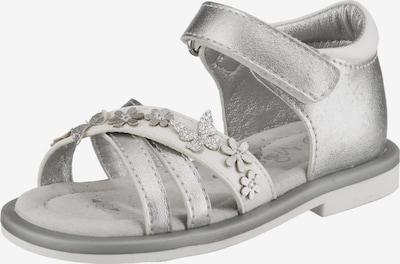MOD8 Sandalen 'Shadia' in silber, Produktansicht