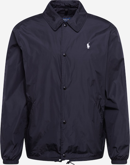 POLO RALPH LAUREN Tussenjas 'COACHES JKT-UNLINED-JACKET' in de kleur Zwart, Productweergave
