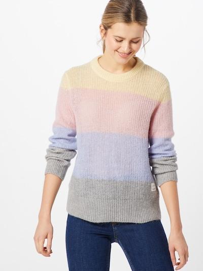 Marc O'Polo DENIM Pullover in pastellblau / gelb / grau / pastellpink, Modelansicht