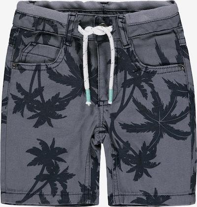 KANZ Shorts in graumeliert / schwarz / weiß, Produktansicht