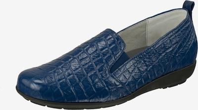Natural Feet Instappers in de kleur Blauw: Vooraanzicht