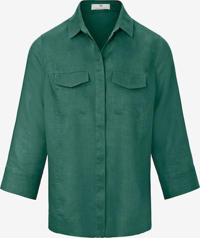 Peter Hahn Blouse in de kleur Groen, Productweergave