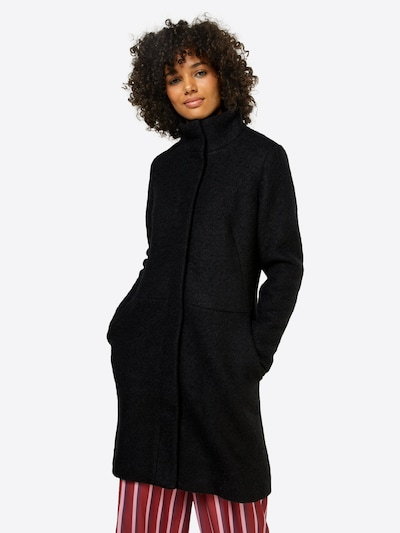 VILA Übergangsmantel 'Vialanis' in schwarz, Modelansicht