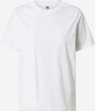 WOOD WOOD T-Shirt 'Mia' in weiß, Produktansicht