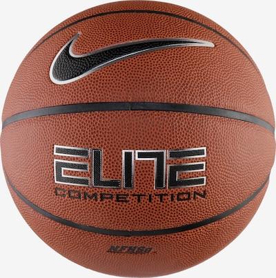 NIKE Balle 'Elite Competition 8P' en rouille / noir / argent, Vue avec produit