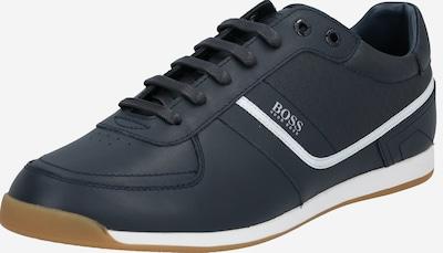 Sneaker low 'Glaze_Lowp_nahb' BOSS pe albastru închis, Vizualizare produs