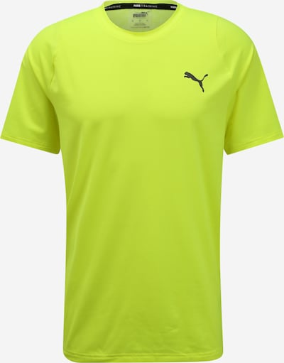 PUMA Functioneel shirt 'Power' in de kleur Neongeel, Productweergave
