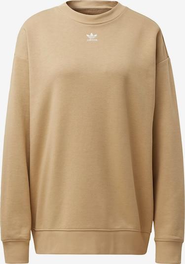 ADIDAS ORIGINALS Sweatshirt 'Trefoil Essentials' in sand, Produktansicht